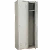 Шкаф металлический для одежды Практик LS-21-80
