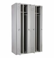 Шкаф металлический для одежды Практик LS-41